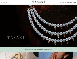tasaki.co.jp screenshot