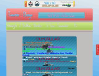 tasarim-dunya.tr.gg screenshot