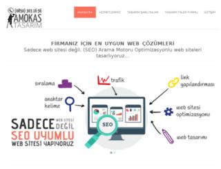 tasarim.amokas.com screenshot