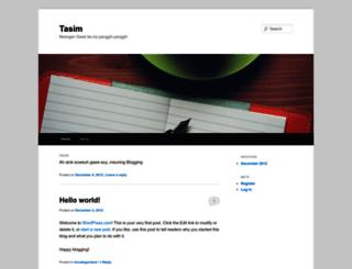 tasim17.wordpress.com screenshot