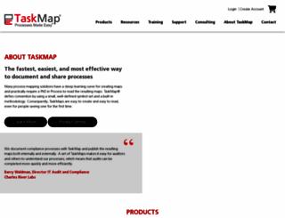 taskmap.com screenshot