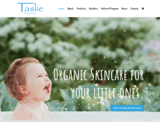 taslie.com screenshot