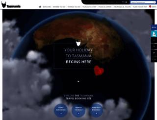 tasmania.com screenshot