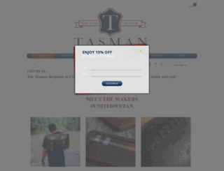 tasmanindustries.com screenshot
