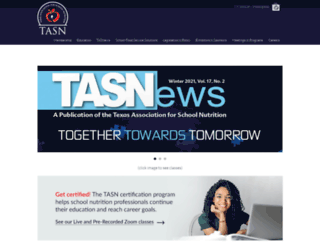 tasn.net screenshot