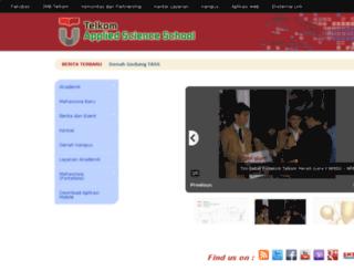 tass.telkomuniversity.ac.id screenshot