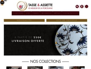 tasse-et-assiette.com screenshot