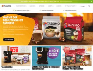tassimo.at screenshot