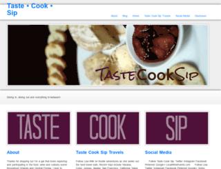 tastecooksip.com screenshot
