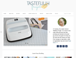 tastefullyfrugal.org screenshot