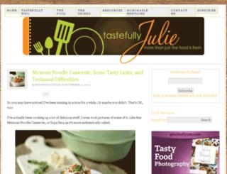 tastefullyjulie.com screenshot