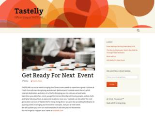 tastelly.wordpress.com screenshot