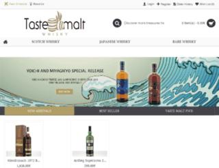 tastemalt.com screenshot