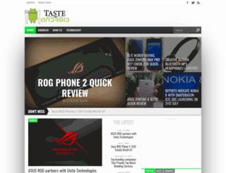 tasteofandroid.com screenshot