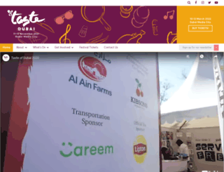 tasteofdubaifestival.com screenshot