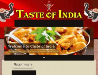 tasteofindiajhb.co.za screenshot