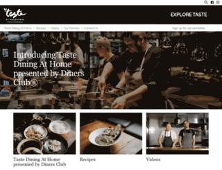 tasteofmelbourne.com.au screenshot