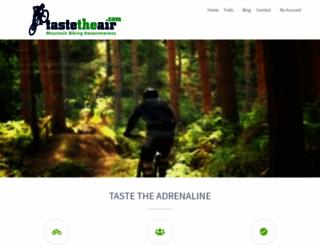 tastetheair.com screenshot