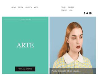 tasticmagazine.com screenshot