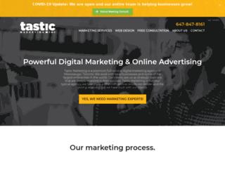 tasticmarketing.com screenshot
