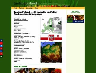 tastingpoland.com screenshot