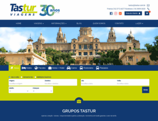 tastur.com.br screenshot