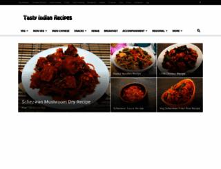 tasty-indian-recipes.com screenshot