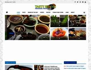 tastyislandhawaii.com screenshot