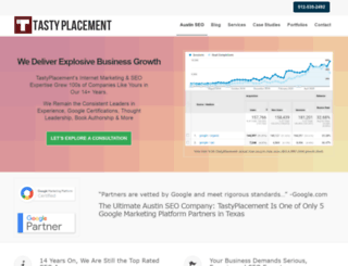 tastyplacement.com screenshot