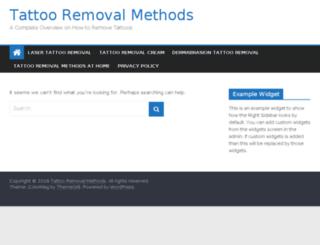 tat-removal.net screenshot