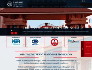 tat.trident.ac.in screenshot