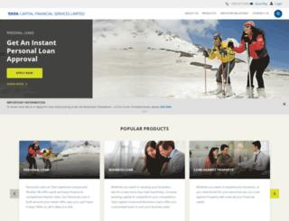tatacapitalfinancialservices.com screenshot