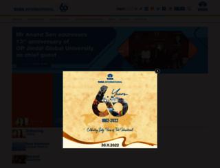 tatainternational.com screenshot