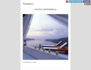 tatanka13.tumblr.com screenshot