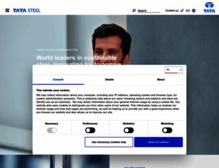 tatasteelconstruction.com screenshot