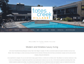 tatescreekapartments-prg.securecafe.com screenshot