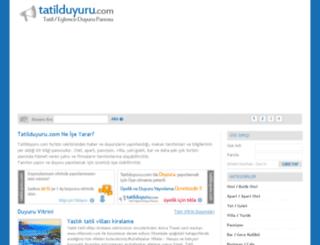 tatilduyuru.com screenshot