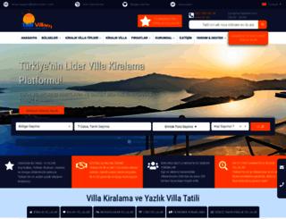 tatilvillam.com screenshot
