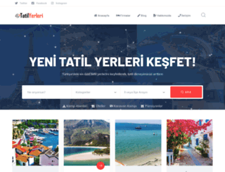 tatilyerleri.org screenshot