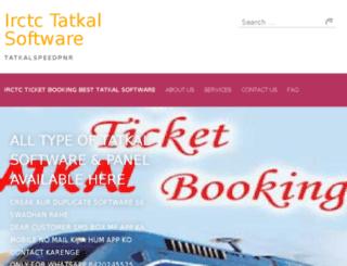 tatkalsuccesspnr.com screenshot
