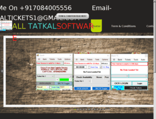 tatkaltickets.in screenshot
