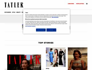 tatler.com screenshot