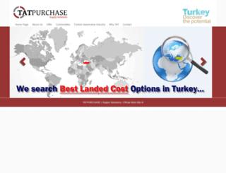 tatpurchase.com screenshot