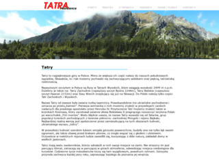 tatraresidence.pl screenshot