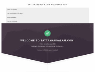 tattamangalam.com screenshot