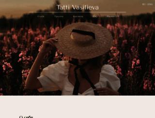 tattivasilieva.com screenshot