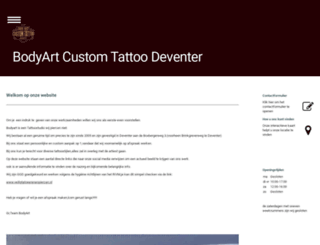 tattoo-bodyart.nl screenshot