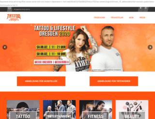 tattoo-convention-dresden.de screenshot