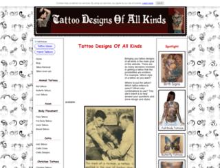 tattoo-designs-of-all-kinds.com screenshot