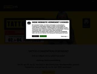 tattoo-show.de screenshot